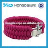 paracord bracelet , 550 cord rope, rope cross bracelet , parachute bracelet 550