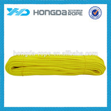 4mm polyester parachute rope 550 paracord cord bright yellow