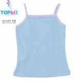 2013 new kids designr cotton vest, baby girls sun-top,girls sleeveless shirt