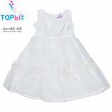 Children Summer dress, girl's Casual Princess dress kids high end cotton wear Age 1-16years