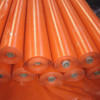 Orane/orange PE tarpaulin roll