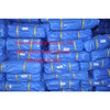Blue/Blue PE tarpaulin hot selling in Middle-east,ready made tarpaulin sheet