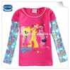 (F6390D) 2-6Y wholesale infant brand children girl t shirt nova kids girl long sleeve t shirt girl cartoon tops