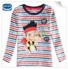 (A6408) 2-6Y 2015 new kids tshirts designs Nova baby t shirt wholesale striped child tshirts cotton casual baby t shirt cheap