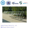 2016 Hot Dipped Semi-vertical Bike Rack /Floor Mounted Bicycle Stand / Grid Bike Rack (ISO SGS TUV Approved)