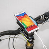 Mobile Phone Bike Holder with External Portable Power Bank for iphone/samsung/htc