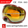 water transfer printing skiing goggle,snow goggles,snow boarding goggles
