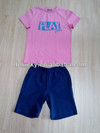 Summer hot selling children boys casual wear t-shirt and shorts