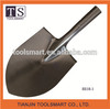 farming digging tool round point steel shovel head
