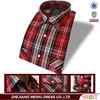 Striped 2015 Men's 100% cotton casual roll collar shirts wholesale high quality
