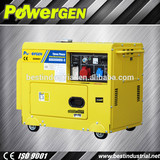 generator silent, soundproof generator, 5kw diesel generation, small air cooled dynamo generator