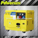 generator silent, soundproof generator, 5kw diesel generation, 5kva silent diesel generator price