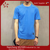 Wholesale o-neck Men's short sleeve solid color t shirt 100% cotton plain Casual men T shirt