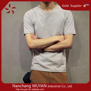 high quality men t shirt manufacturer 2015 new style fashion 100% cotton t shirt custom printed wholesale mens t Shirt
