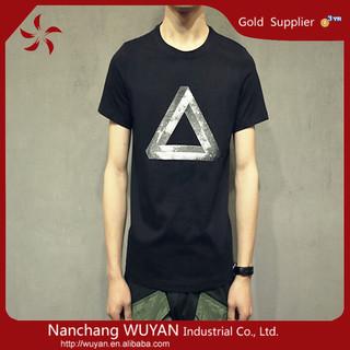 Custom printing men's T-shirt ,100% Cotton o neck t shirts , printed t shirts men t-shirt wholesale China