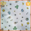 white dyed printing baby blanket tc flannel fabric 32*12 40*45 120gsm