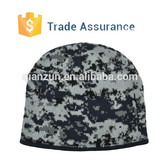 Customize New Fashion Winter Camo Beanie Hat Camo Pattern Beanie