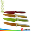 colorful utility knife, small kitchen knives