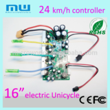 """New arrival 24km/h electric unicycle 16"""" controller self-balancing scooter motherboard one wheel 16 inches board"""