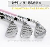 Factory price Children Golf brassie, #7 iron stick, age 8-16 years children practice stick, player training tools