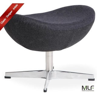 Swell Mlf Arne Jacobsen Egg Chairs Ottoman 5 Colors Premium Gmtry Best Dining Table And Chair Ideas Images Gmtryco