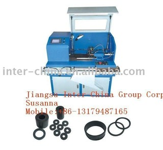 Cutting machine for rubber