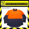 Two Tone Wholesale Long Sleeve Hi Vis Safety Shirt
