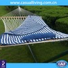 Double hammock with stand best selling hammock with steel stand