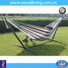 Hot selling camping double hammock with stand outdoor