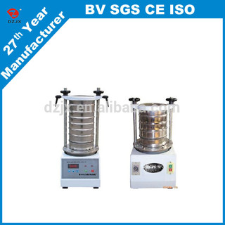 Maximized performance talc powder test sieve / cornstarch vibrating test sifter machine