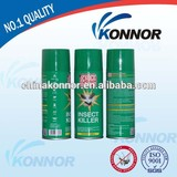 Best quality knock down mosquito spray, aerosol insecticide repellent , oil based mosquito repellent spray