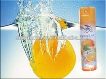 300ml hot sell eco-friendly orange flavor aerosol air freshener air purifier