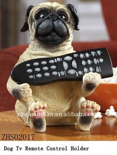 Pug & Dachsund Dog Tv Remote Control Holder