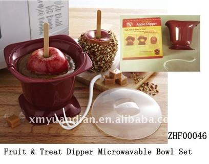 Fruit & Treat Dipper Microwavable Bowl Set