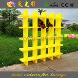 Modern color cube bookshelf, colorful movable bookshelf, plastic cube bookshelf