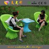 Morden Garden chair outdoor led light bar