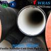 Ductile cast iron pipe PN16