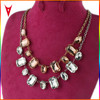 New Popular Glass Clavicle Necklace Fashion Necklaces 2015
