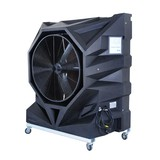 Portable evaporative air cooling units evaporative air cooler
