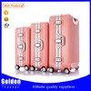China new products ABS PC luggage set fashion high quality trolley luggage in PC hard materials
