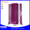 China new products cute ABS travel hard luggage fashion hot and new trolley hard case luggage in aluminum opening