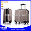factory new design smart trolley case/ 16'' cabin size trolley luggage/ China wholesale fashion ABS luggage