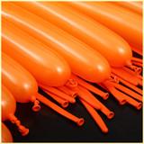 Orange Magic Balloons Birthday Balloons strip Variety shape balloon animals