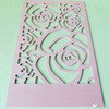 MDF Lattice Board/MDF design board/MDF wave board