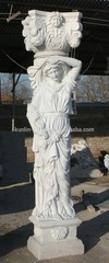 Life size Hand carved Marble figure statue