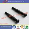 Black Oxide Trim Head Stainless Steel Self Drilling Screws