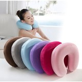 memory foam U neck pillow