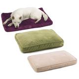 Plush Memory Foam Dog Beds