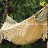 White Cotton Fabric Hanging Fringes Hammock