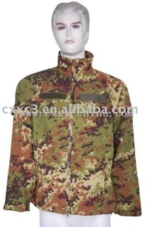 Vegetato Camouflage Water Proof Military Jacket